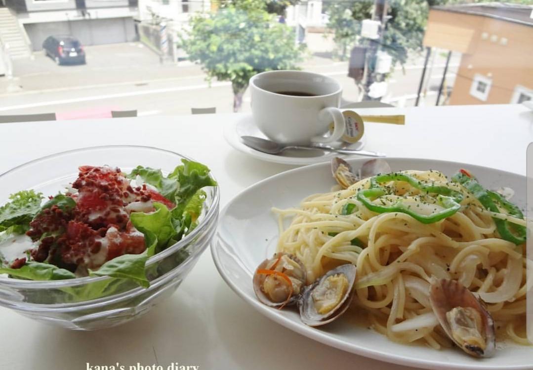 あさり貝塩味 ボンゴレビアンコ・サラダドリンクセット